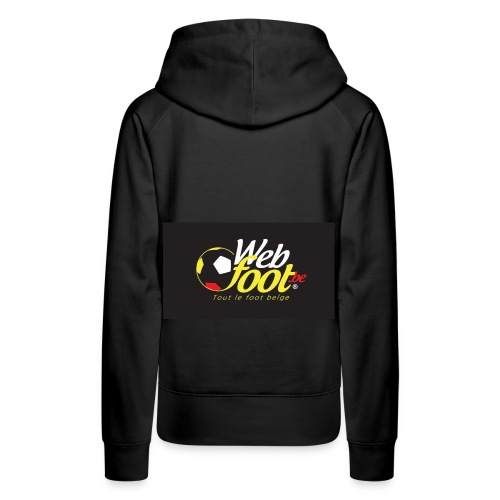 webfoot.be - Sweat-shirt à capuche Premium pour femmes