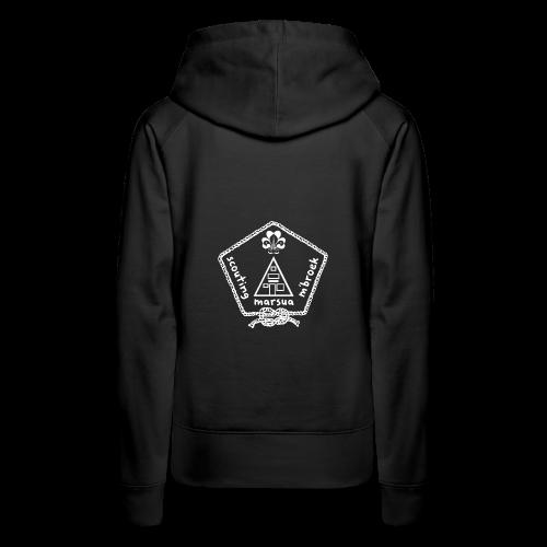 Marsua Wit - Vrouwen Premium hoodie