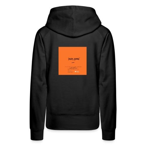 Cover Back delta. plane - Sweat-shirt à capuche Premium pour femmes