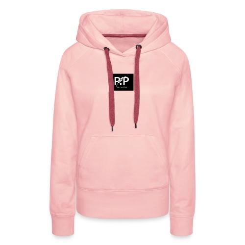 P.P - Sweat-shirt à capuche Premium pour femmes