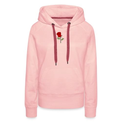 Red Rose - Vrouwen Premium hoodie