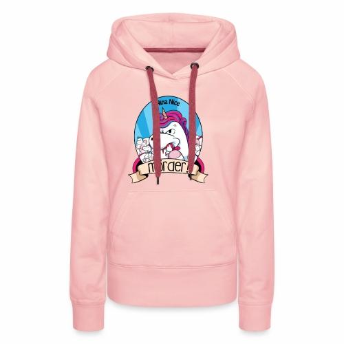 Murder Unicorn - Frauen Premium Hoodie