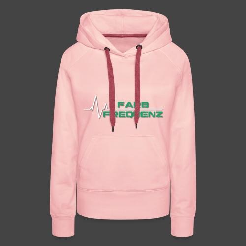FarbFrequenz - Logo - Frauen Premium Hoodie