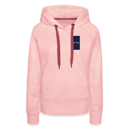 Way Way - Sweat-shirt à capuche Premium pour femmes