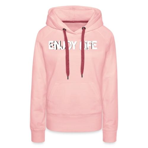 Enjoy Life Logo - Women's Premium Hoodie
