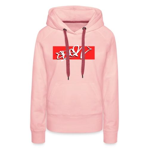 ASER Simple-Style RedBG - Frauen Premium Hoodie