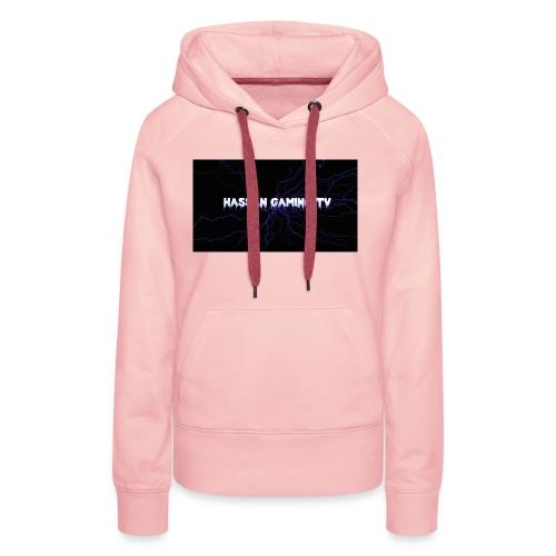 backgrounder 1 - Frauen Premium Hoodie