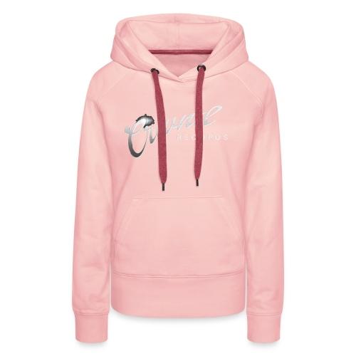 Crwnd Logo Paste - Women's Premium Hoodie