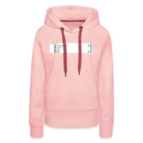 Der Channel - Frauen Premium Hoodie