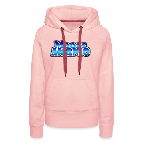 MoorsAmanioLogo - Vrouwen Premium hoodie