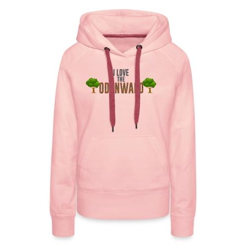 I Love The Odenwald - Frauen Premium Hoodie