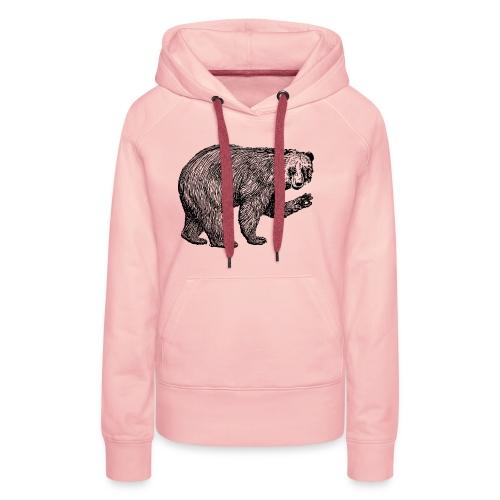 Bear Bamboozle - Frauen Premium Hoodie