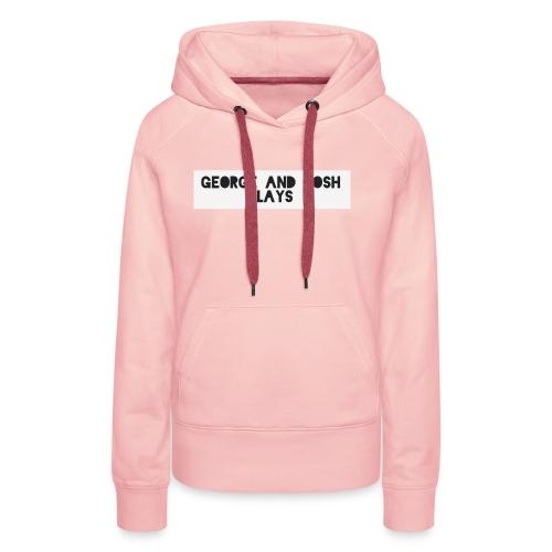George-and-Josh-Plays-Merch - Women's Premium Hoodie