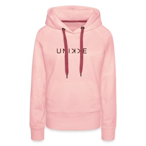 LogoUnikkeBrand - Women's Premium Hoodie