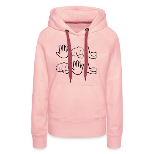 De Leyaro T-shirt lange mouwen - Vrouwen Premium hoodie