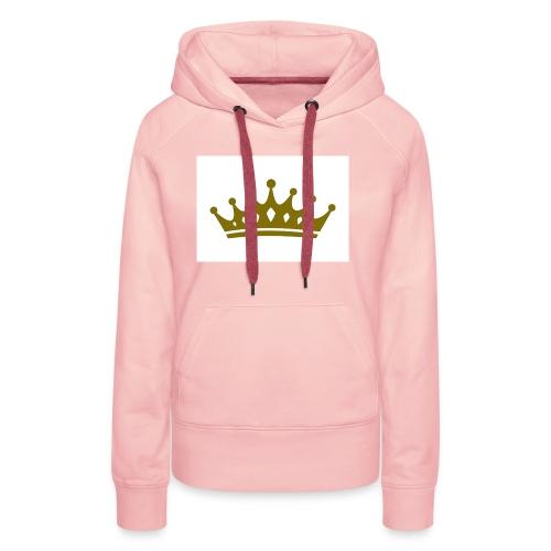 Kongen - Premium hettegenser for kvinner