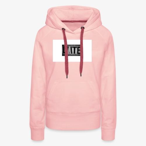 Le premier design de la LMTE - Sweat-shirt à capuche Premium pour femmes