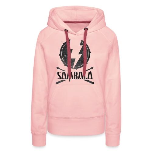 Batucada Sambala - Sudadera con capucha premium para mujer