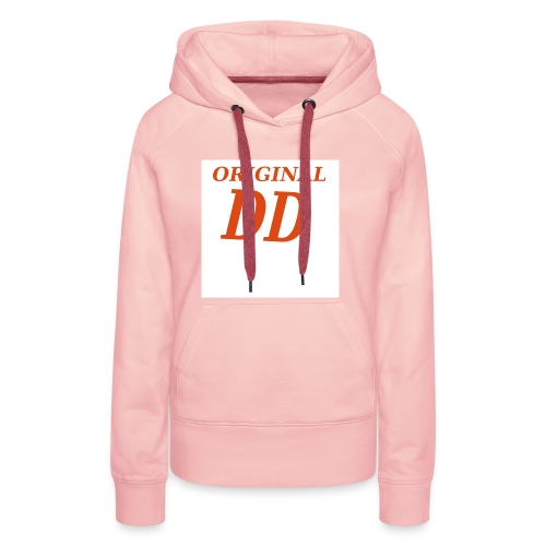 Original DD rot - Frauen Premium Hoodie