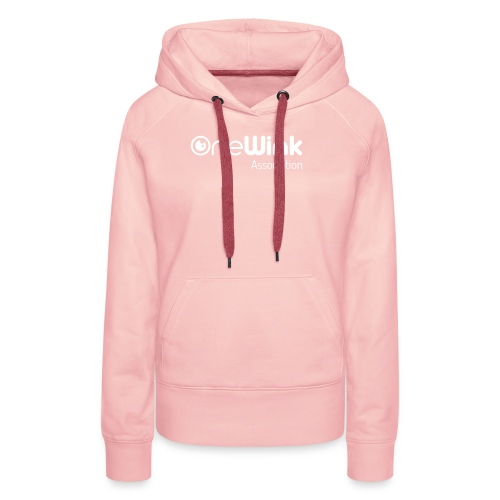 OneWink Association - Sweat-shirt à capuche Premium pour femmes