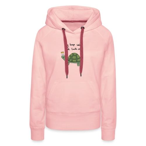 turtle - Vrouwen Premium hoodie