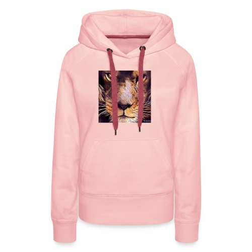 leon - Sudadera con capucha premium para mujer