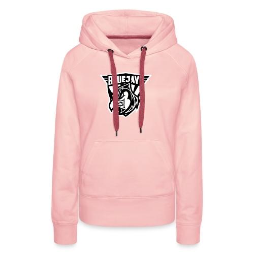 BLUEJAYS Logo schwarz / weiß - Frauen Premium Hoodie
