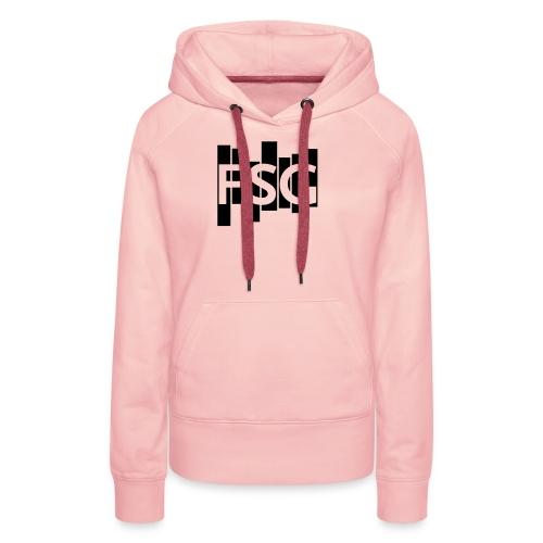 Schwarzes FSG-Logo - Frauen Premium Hoodie