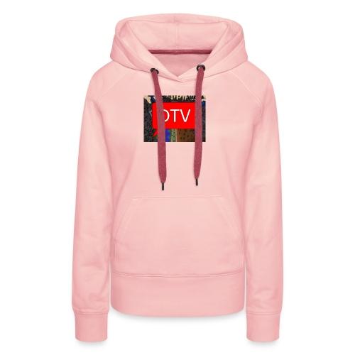 DriesTv Server - Vrouwen Premium hoodie