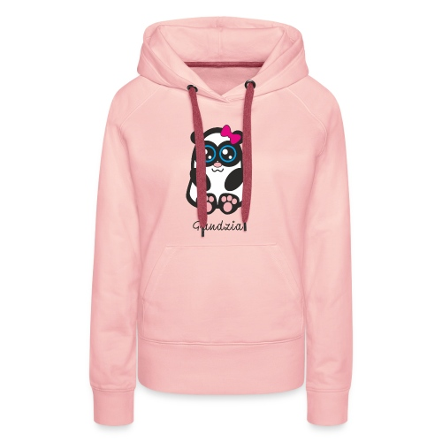 Pandzia - Bluza damska Premium z kapturem