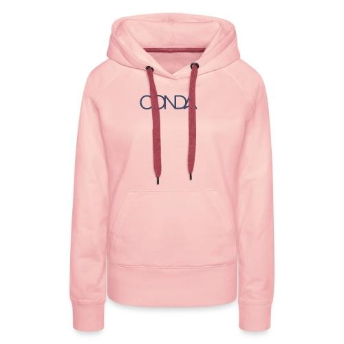 CONDA LOGO CMYK - Frauen Premium Hoodie