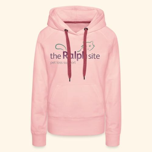 The Ralph Site, non-profit pet bereavement support - Women's Premium Hoodie