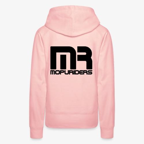Mopuriders Schwarz - Frauen Premium Hoodie