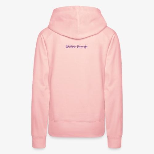 Logo Integrales Faszien Yoga Daniela Meinl - Frauen Premium Hoodie