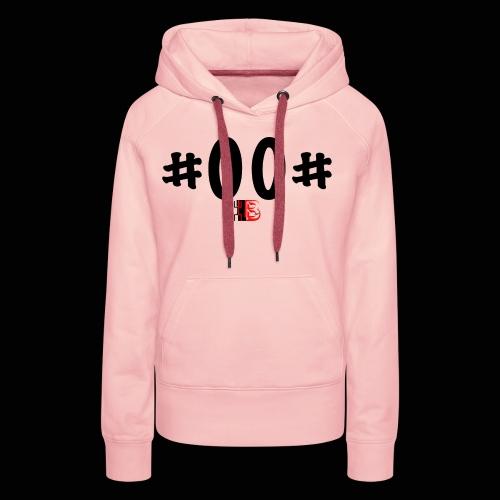 n° de série #00# Noir - Sweat-shirt à capuche Premium pour femmes