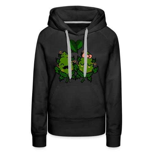 Mr & Ms Weed Nug - Sudadera con capucha premium para mujer