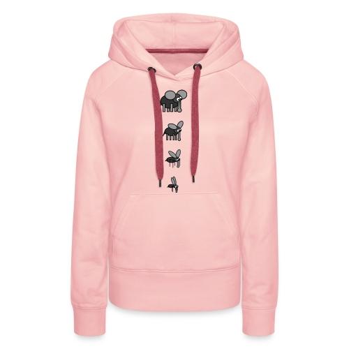 mueckefant - Frauen Premium Hoodie