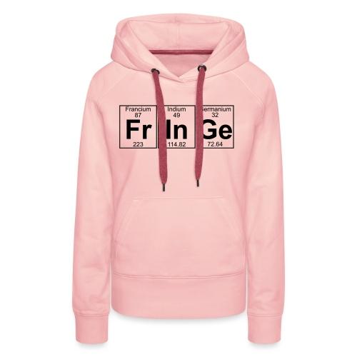 Fr-In-Ge (fringe) - Full - Women's Premium Hoodie