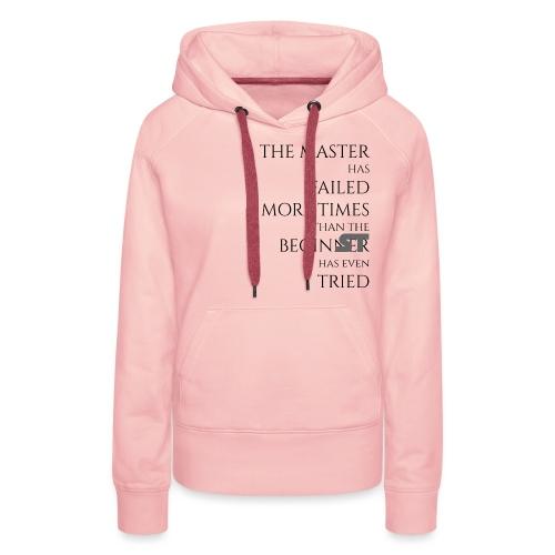 THE MASTER 8 png - Frauen Premium Hoodie