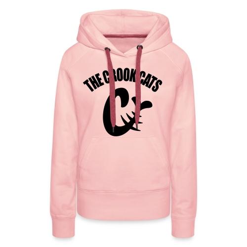 thecrookcats_crook_3 - Sweat-shirt à capuche Premium pour femmes