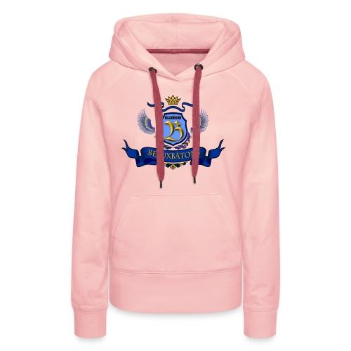 LOGO BB détouré applati c - Sweat-shirt à capuche Premium pour femmes
