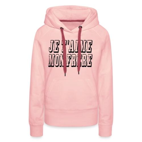 frere - Sweat-shirt à capuche Premium pour femmes
