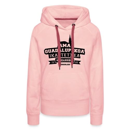 Ama Guadalupekoa Ikastetxea - Sudadera con capucha premium para mujer