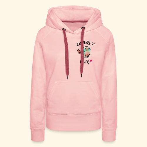Conures' Lover: Toc - Sweat-shirt à capuche Premium pour femmes
