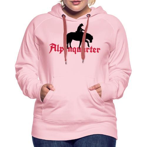 Alpenquarter_Trail02 - Frauen Premium Hoodie