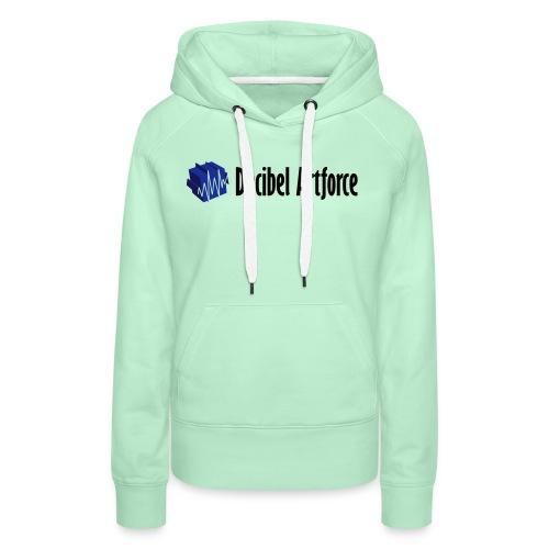 decibelartforce logo 4c vektorisiert - Frauen Premium Hoodie