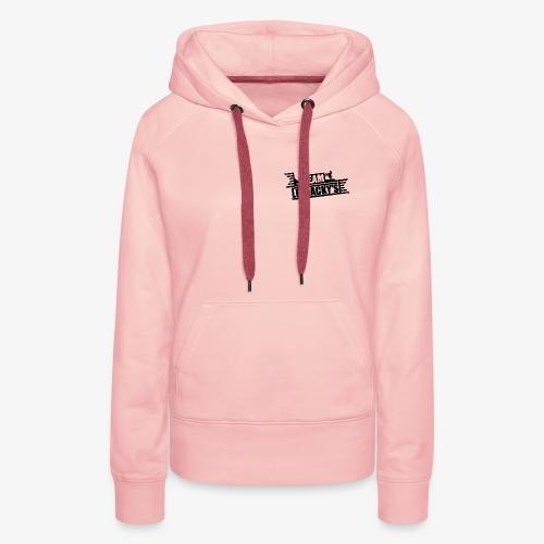 team les jack noire png - Sweat-shirt à capuche Premium pour femmes