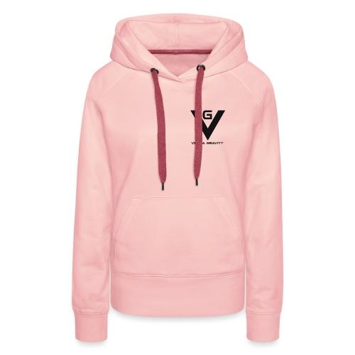 Logo venna gravity - Sweat-shirt à capuche Premium pour femmes