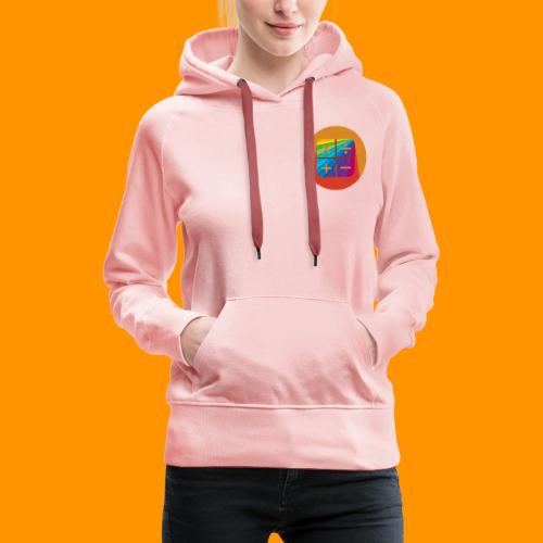Matemáticas Sin Más Rainbow - Sudadera con capucha premium para mujer