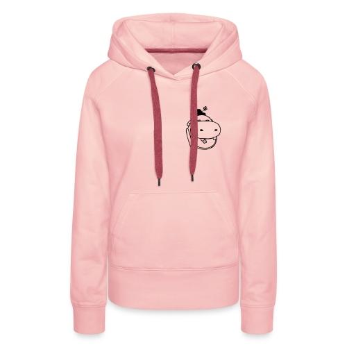potame vetoriel light - Sweat-shirt à capuche Premium pour femmes